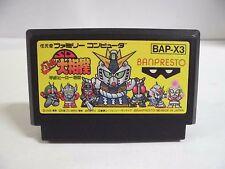 NES -- SD BATTLE OOZUMOU sumo -- Famicom. Sport. Japan game. Work fully. 10726