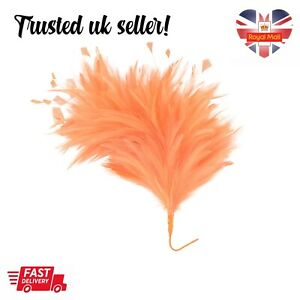 Coral Feather Mount Millinery Hat Fascinator Trimmings