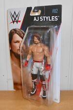 WWE - AJ Styles - Mattel Basics - Series 82 - wrestling figure
