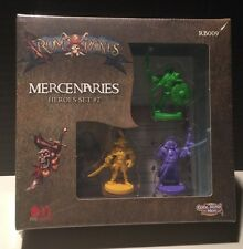 Rum & Bones MERCENARIES HEROES Set #2 Cool Mini or Not Five Houses