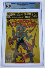 Amazing Spider-Man #225 CGC 6.0 OW/W pages 1982 Marvel Comics Foolkiller app