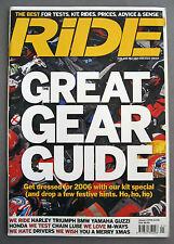 Ride Magazine January 2006 01/06