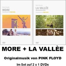 More + la Vallée, Vallee, obscured by Clouds, Pink Floyd, 2 x 1 DVD NEW + OVP!