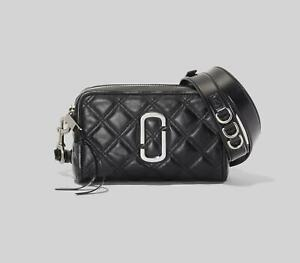 NWT Genuine Marc Jacobs THE QUILTED SOFTSHOT 21 Camera Bag crossbody bag sales.