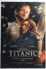 """Titanic 3D 2012 Double Sided Original Movie Poster 27"""" x 40"""""""