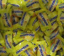 MENTOS- *LEMON* Individually Wrapped Pieces Bulk Candy Mints {125 PIECES}