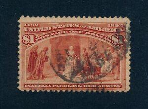 drbobstamps US Scott #241 Used Sound Stamp