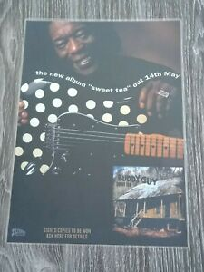BUDDY GUY - SWEET TEA  - Laminated Promotional Poster