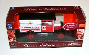 1924 Chevy 1 Ton Series H Truck 1:32 Die Cast Ambulance Classic Collection
