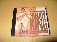 Freddy King Texas Sensation cd 1997 Excellent / Near Mint Condition