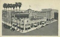 1920s California Hotel San Bernardino Postcard