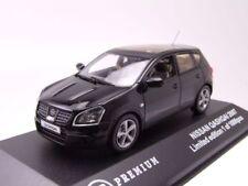 Nissan qashqai 2007 negro, Coche Modelo 1:43 / TRIPLE9