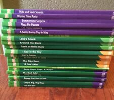 Tag School Phonemic Vowels Consonants Leap Frog Hardcover Books Classroom Set 23