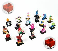 Lego Disney Series Minifigures 71012 - Complete Set of 18 - New Never Assembled