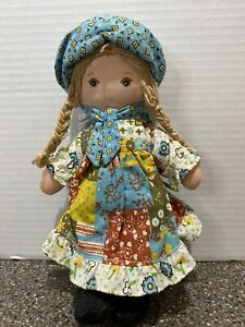 Vintage Holly Hobby 9in Doll In Great Shape