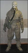 STALKER   NBC HAZMAT SUIT . NEW, GAS MASK,ARMY RUBBER GLOVES HALLOWEEN