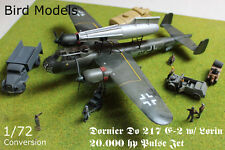 Dornier Do 217 e-2 w/20.000 HP Lorin 1/72 Bird models transformación frase/Conversion