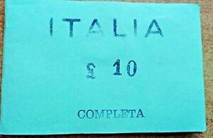 Serie Completa ( ITALIA 10 Lire Dal 1926 Al 1930 ) RIPRODUZIONE