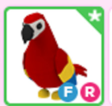 Fly Ride FR Parrot Roblox Adopt me