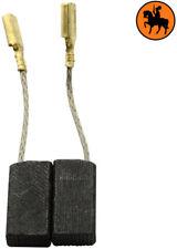 NUOVO Spazzole di Carbone BOSCH GWS 8-100 CE levigatrice - 5x8x15,5mm