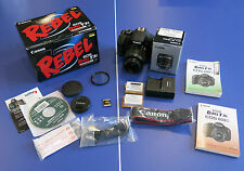 Canon EOS Rebel T3i, EFS 1855 ISii Lens, Great Condition plus extras