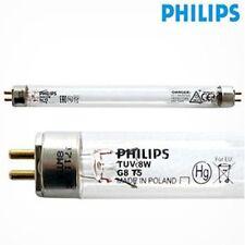 Philips TUV 8W G8T5 Bombilla Tubo Corto Onda Germicida Ultra Violeta Filtro UV
