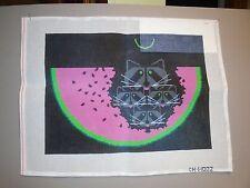 Painted Charlie Harper  Needlework Canvas