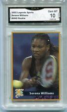 2002 Serena Wlliams Legends Magazine Rookie Gem Mint 10