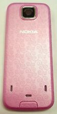 Nokia 7210 Supernova Cellphone Battery Door Back Cover Housing Case Pink OEM
