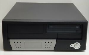 PC Gehäuse + DVD-Laufwerk + Windows Lizenz│Chenbro PC40522 MicroATX Desktop