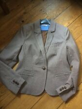 """""""EDEIS"""" LA REDOUTE Houndstooth Check Tweed Jacket.. Size 10"""