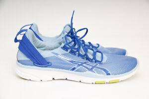 Asics Gel Fit Sana Womens Training Sneakers Blue Bel US 7.5 /EUR39 Fitness Shoes