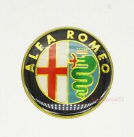 1Pcs 65mm Auto Rad Nabendeckel Emblem Kleber Aufkleber Plaketten-Logo für Alfa