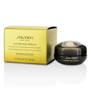 NEW Shiseido Future Solution LX Eye & Lip Contour Regenerating Cream 17ml Womens