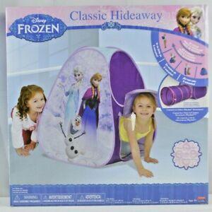 Hideaway Tent DISNEY FROZEN Elsa Playhouse Hide 'N Seek Fun Easy Setup Portable