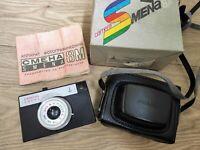 SMENA 8M 35 mm Russian USSR Camera Lomography LOMO Lens Triplet T-43 4/40 mm box