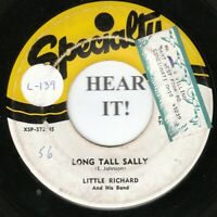LITTLE RICHARD 45 (Specialty 572) Long Tall Sally / Slippin' And Slidin'