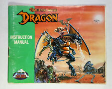 CHALLENGE OF THE DRAGON - MANUAL ONLY (NO GAME INCLUDED) NINTENDO (NESM007)