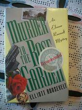 Murder in the Rose Garden (Elliott Roosevelt, 1989 1st Edition HCDJ)