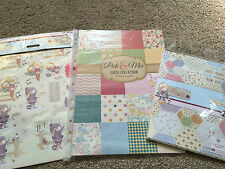 PICK & MIX PAPER COLLECTION TILLY DREAM CRAFT A4 DIE-CUT DECOUPAGE 32 PACK