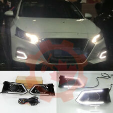 For Nissan Altima 2019~2020 12V LED Daytime Running Light Fog Light DRL White