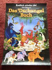 Das Dschungelbuch Kinoplakat Poster A1, Walt Disney, Mogli, Balu, WA 80er