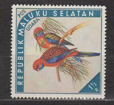 Republik Maluku Selatan 109 birds 5 MNH PF 1952 Paradijsvogel Paradise bird