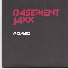 Basement Jaxx-Romeo promo cd single