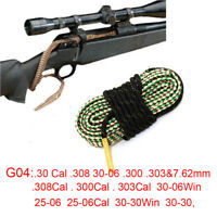 Bore Snake .30Cal.308  30-06 .300 .303 7.62mm .308Cal .300Cal .303Cal Boresnake