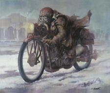 'Wanderer'' gicle'e edition of 20/50 by DARIUSZ ZAWADZKI on canvas