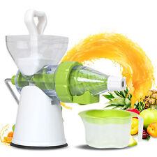 Entsafter Manuell Entsafter Tragbar Obst Saftpresse Saft Gemüse Obst Neu
