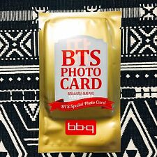 [BTS BBQ Photocard] Bangtan Boys Random Ver Official New 2nd Ver Photo Card 03