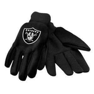 Oakland RaidersBlack Utility Gloves