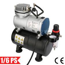 Airbrush Kompressor 3L Kompressoren 1/6PS Einzylinder 4 Bar Abschaltautomatik DE